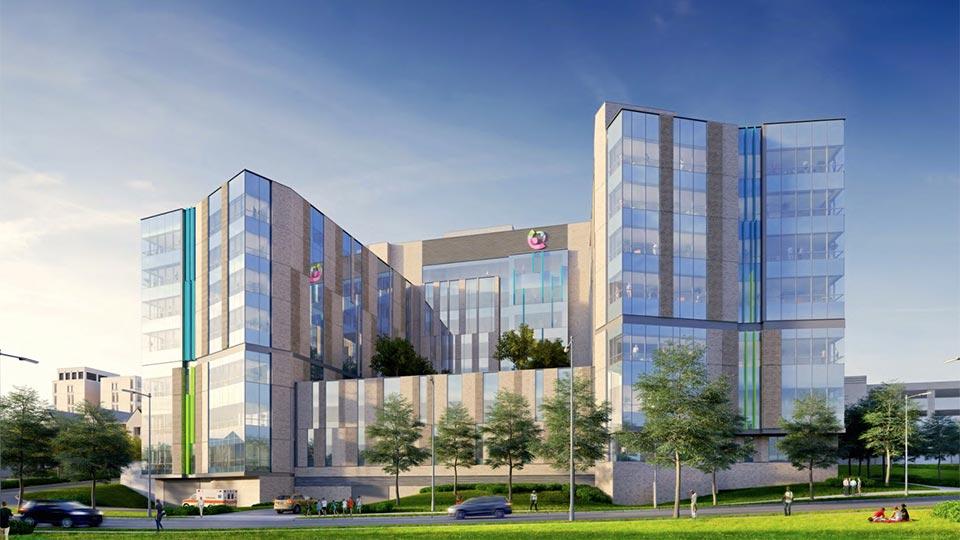 Critical Care Building